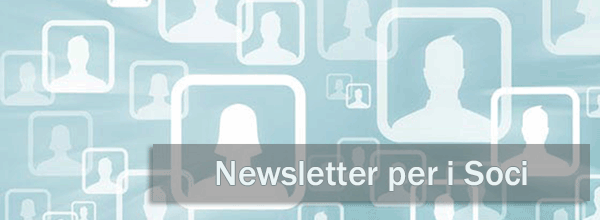 Newsletter per i soci